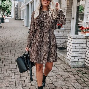 H&M Cheetah Dress
